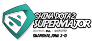 Tournament logo China Dota2 Supermajor.png