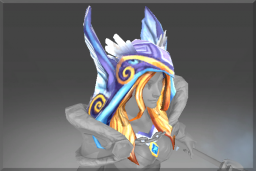 Cosmetic icon Hood of the Frozen Feather.png