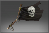 Pirate Slayer's Black Flag
