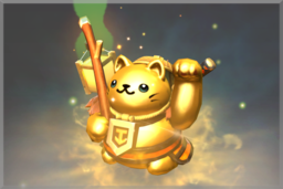 Cosmetic icon Golden Fortune's Tout.png