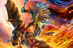 Cosmetic icon Flight of the Marauding Pyro Loading Screen.png