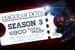 Cosmetic icon League of Dota Season 3 Ticket.png