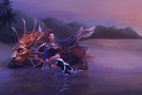 Heiress of the Coastal Kingdom Loading Screen