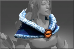 Cosmetic icon Snowstorm Mantle.png