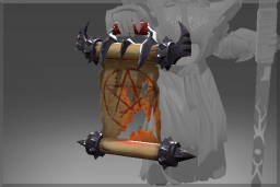 Cosmetic icon Warlock's Summoning Scroll.png