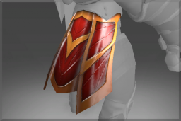 Cosmetic icon Crimson Wyvern Skirt.png