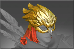 Cosmetic icon Gilded Falcon Helm.png
