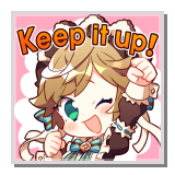 "Valentine's Melody ""Keep it up!"""