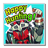 "Hunter Berserker ""Happy Hunting!"""