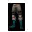 Aqua Page Leggings