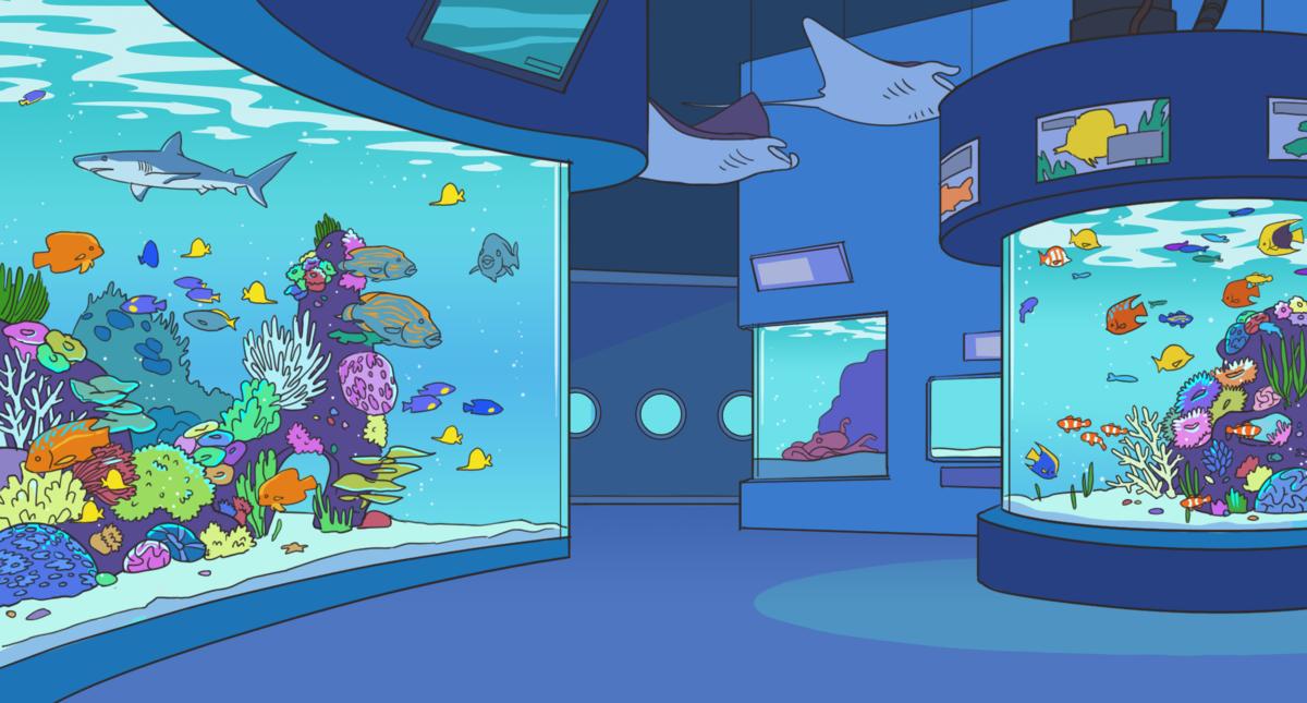 Aquarium Official Dream Daddy Wiki