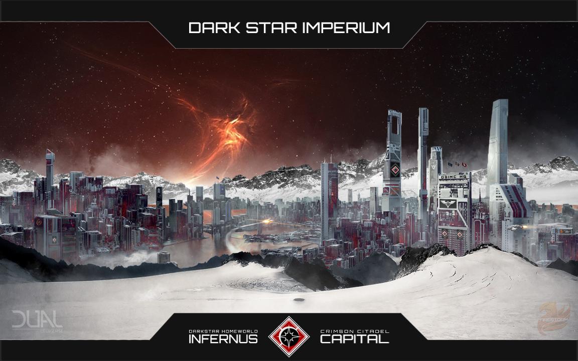 "The Dark Star Imperium homeworld of Infernus, ""Circa 51-AA"""
