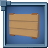 SmallHangingHewnLogSign Icon.png