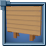LargeStandingHewnLogSign Icon.png