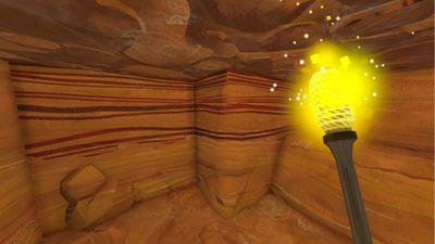 Iron Ore vein found within Sandstone.