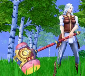 Aster's Crushing Hammer