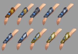 Glove progression concept