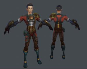 Pyromancer's Suit Concept image