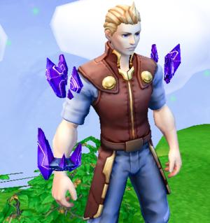 Sharp Crystal Armor