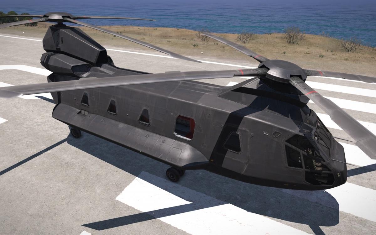 CH-67 Huron - Official Epoch Mod Wiki