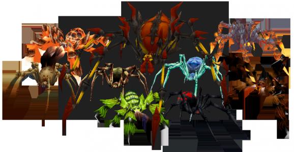 Especies de arañas en World of Warcraft