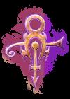 El símbolo de la banda.