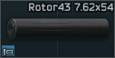 Úsťová brzda Rotor 43 7.62x54