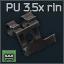 PU 3.5x ring mount