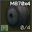 4-shell M870 12ga magazine cap icon.png