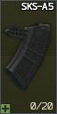 ProMag SKS-A5 7.62x39 20发SKS弹匣