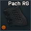 Funda de goma Pachmayr para pistolete