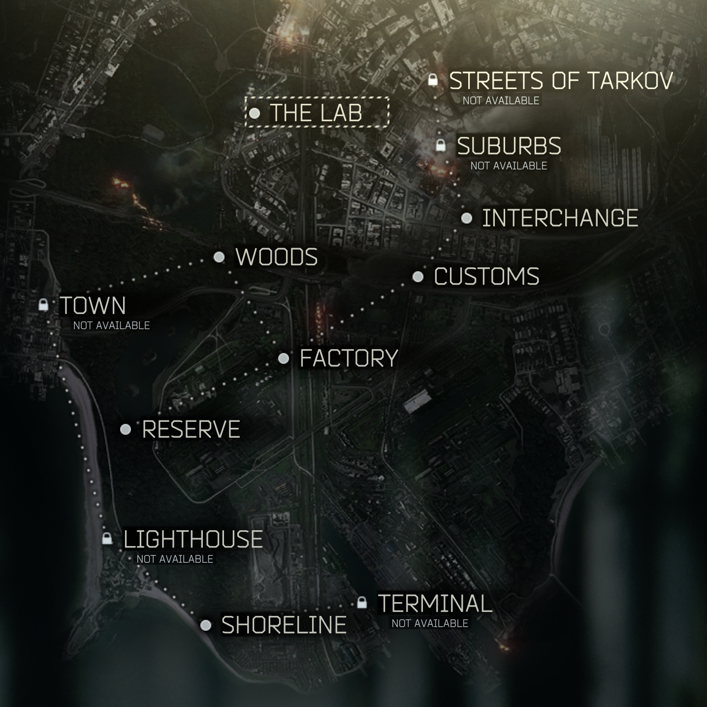 Map of Tarkov - The Official Escape from Tarkov Wiki