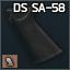 "SA-58 için Standart ""DS Arms"" silah kabzası"