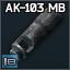 Izhmash 7.62x39 AK-103 muzzlebrake & compensator
