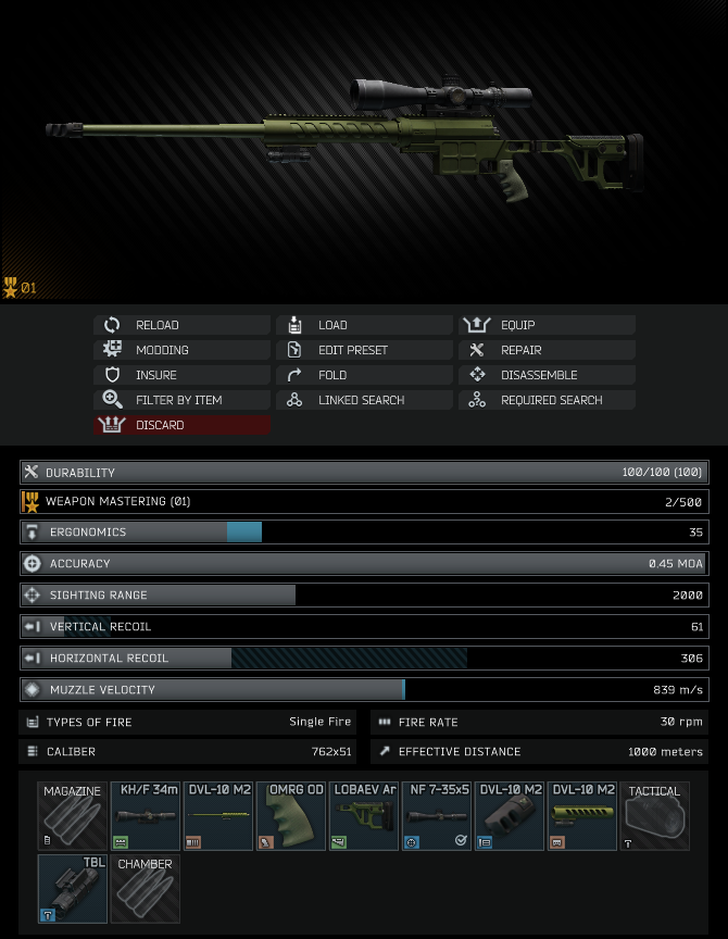 Gunsmith - Part 5 - The Official Escape from Tarkov Wiki