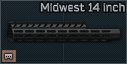 Midwest 14 inch M-LOK foregrip for MPX icon.png