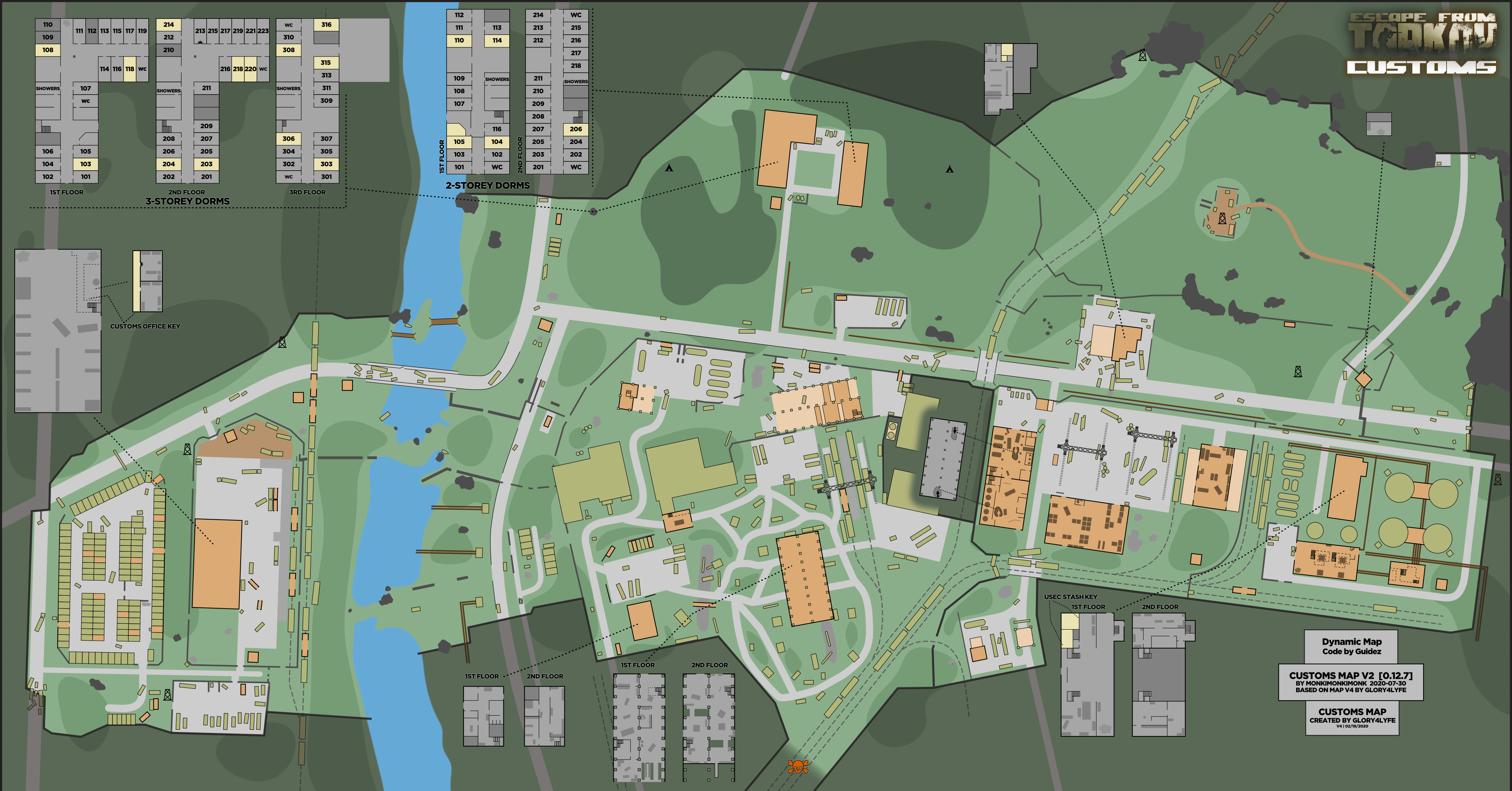 Woods Interactive Map The Official Escape From Tarkov Wiki