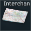 Interchange paper map
