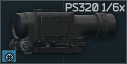 Valday PS-320 1x/6x Scope