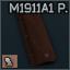 M1911A1 için standart polimer kabza