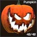 Jack-o'-lantern tactical pumpkin helmet