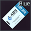 Lab. Blue keycard