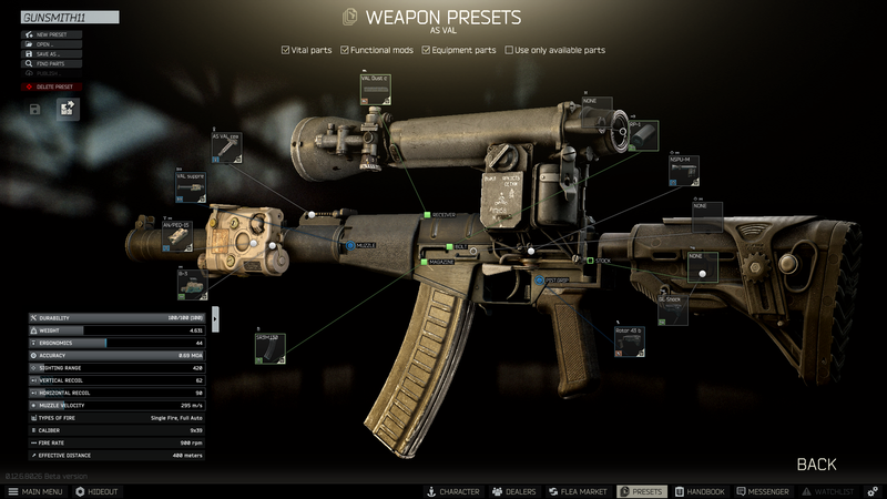 Gunsmith - Part 11 - The Official Escape from Tarkov Wiki