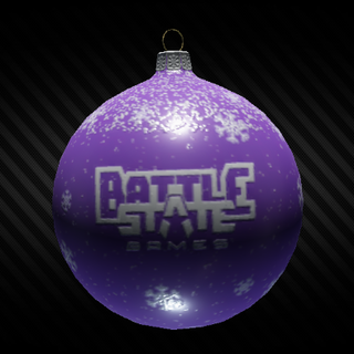 Christmas ornament violet ins.png