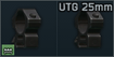 25mm rings made by UTG icon.png