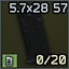 Five-seveN 20-Round 5.7x28 magazine icon.png