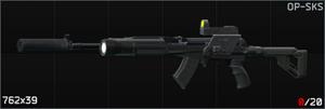 Link=Carabine semi-automatique Simonov SKS 7,62x39, version chasse