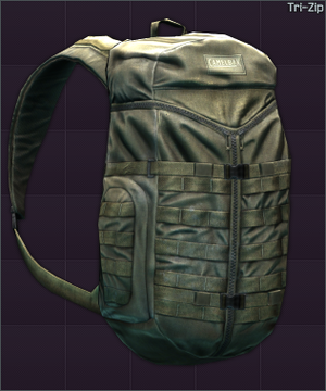 Tri Zip Backpack Escape From Tarkov | Sante Blog