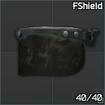 Multi-hit ballistic face shield-visor for Ops-Core FAST helmet (40/40)