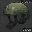 MSA ACH TC-2001 MICH Series Helmet